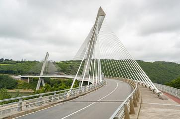 Terenez bridge in Brittany