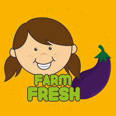 kids farm fresh food