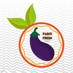 farm fresh food symbol