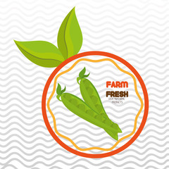 farm fresh food symbol