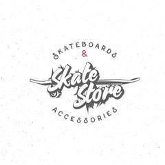 Skate store badge