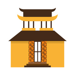 building culture japanese icon