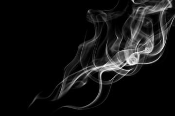 Movement of white smoke.