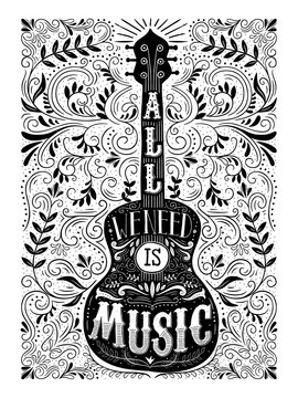 all we need is music