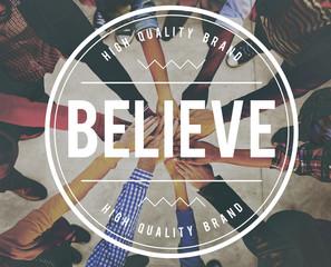 Believe Hope Belief Mind Success Concept
