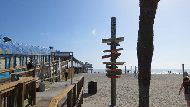 Cocoa Beach pier.Florida USA.