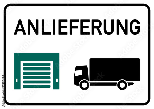 dts3 deliverytrucksign ks121 kombi schild. Black Bedroom Furniture Sets. Home Design Ideas