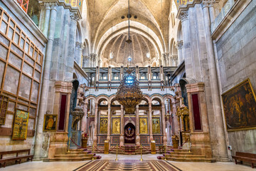 The Church of the Holy Sepulchre - Jerusalem Wall mural
