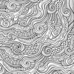 doodles decorative contour background