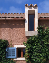 Exterior view of a Mallorcan house
