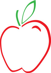 Red Green Apple Logo