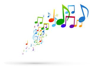 note, note musicali, pentagramma, musica