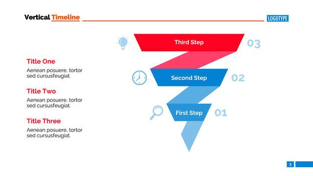 Funnel Infographic Diagram Slide Template