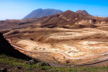 Topo da Coroa, volcanic mountains of Santo Antao, Cape Verde