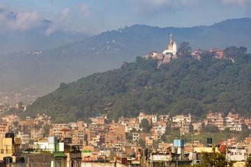The building in Kathmandu city,Nepal.