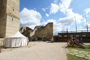 Ruins of Rakvere castle, Estonia
