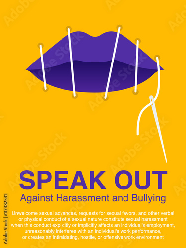Sexual harassment poster free download