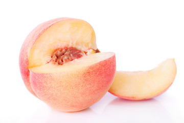 One Sliced Peach