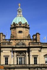 Building at the Royal Mile in Edinburgh
