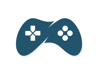 Game joystick or device controller logo