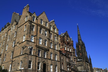The Hub  at the top of Edinburgh's Royal Mile, Scotland