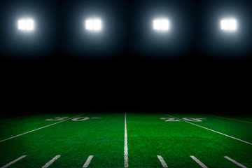 America football field background