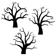 ハロウィン・枯木