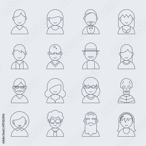 cd38c5b94f2 Pirate head vector icons with skull and crossed bones. Hat and bone ...
