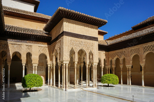 palace of the lions alhambra