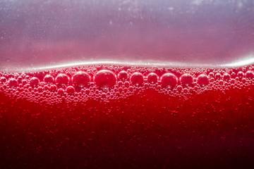 Close-up image of juice