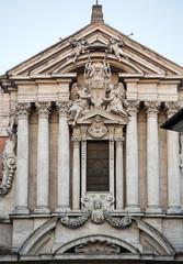 Saints Vincent and Anastasius at Trevi / Santi Vincenzo e Anastasio a Trevi / -  Baroque church in Rome. Italy