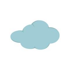 Logo cloud vector