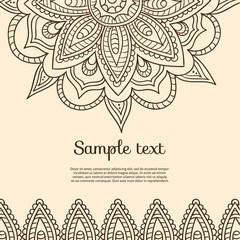 Background in indian design