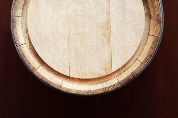 Oak Barrel Top