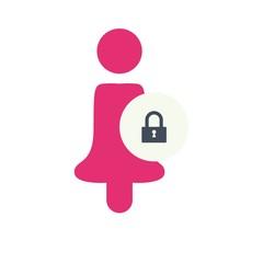 crime logo icon vector