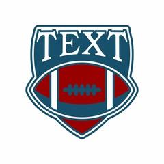 AMERICAN FOOTBALL logo icon vector