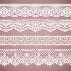 Lacy borders collection