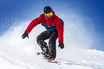 Fototapete - sport invernale