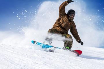 Fototapete - vacanze sulla neve