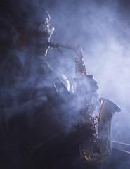 African American Jazz Musician Blues Club Preformer