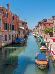 Venise Canal Rio de la sensa quai Fondamenta Mori