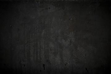 Textured black grunge background