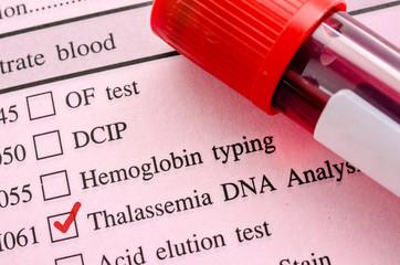 Thalassemia DNA test