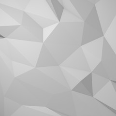 3d abstract low polygon background