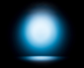 Abstract background - blue glow