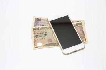 スマートフォンとお金 Smart phone and money
