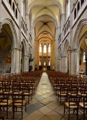 Dijon, France - april 22 2016 : cathedral