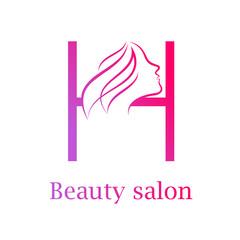 Hair salon logo photos royalty free images graphics vectors abstract letter h logobeauty salon logo design template altavistaventures Images