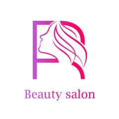 Hair salon logo photos royalty free images graphics vectors abstract letter r logobeauty salon logo design template altavistaventures Images
