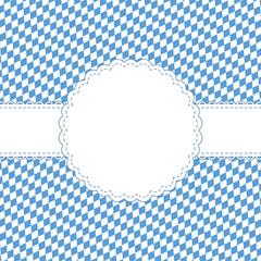 Oktoberfest background with banner